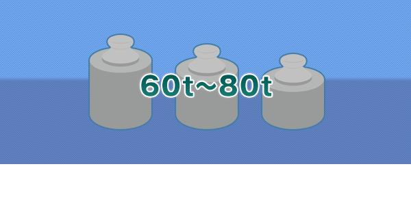 60t~80t